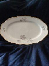 "Edelstein Bavaria China ""Lydia"" Oval Serving Platter"