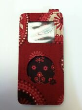 Vera Bradley Retired Rare Mesa Red Ipod/ Tune Case
