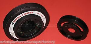 ATI 917753 Crank Damper Pulley for Nissan RB26DETT R33 R34 Street 1000hp Light