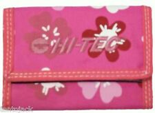 Pink Floral Surfer Style Purse / Wallet Ladies Womens Girls