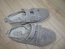 XTi kids boy summer canvas suede trainers shoes plimsoles size 3 UK, 36 EUR