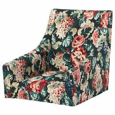 Ikea SAKARIAS Chair Cover Armchair Slipcover Lingbo Multicolor Dark Floral *NEW