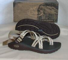 CHACO ZCLOUD X2  Cushioned Sport Sandals   Womens 8 WIDE NEW  Kelp Knit
