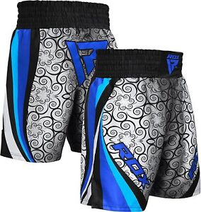 RDX Boxing Shorts Muay Thai Kick Trunks Satin Fighting MMA Gym Fitness  AU