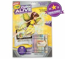 Crayola Color Alive Enchanted Forest Book 4D Experience Brings Coloring to LIFE