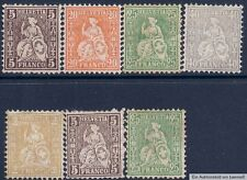 Schweizer Bundespost-Briefmarken (bis 1944) mit Echtheitsgarantie
