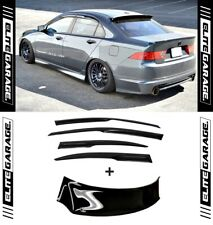 HIC Honda Accord Euro CL9 MUGEN Side & Rear COMBO Visors Weathershields (04-07)