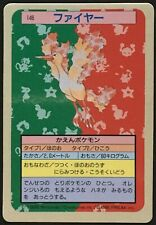Moltres Near Mint Topsun Blue Back No.146 Japanese Pokemon Card From Japan F/S