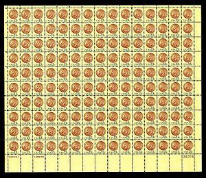 U.S. #1734 Indian Head Penny - Sheet of 150 - OGNH - VF - CV$37.60 (ESP#590)