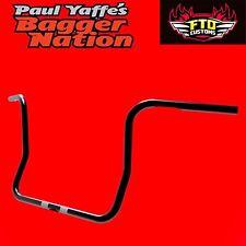Paul Yaffe Originals Classic Bagger Apes 10 Inch Handlebars HD Touring Bagger