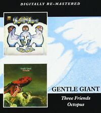 GENTLE GIANT - THREE FRIENDS/OCTOPUS 2 CD NEU