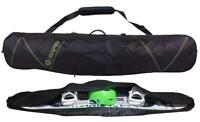 $100 Capix Snowboard Skis Travel Bag w/ Strap + Goggles Slot & Burton Decal NEW