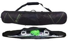 $100 Capix Snowboard Skis Travel Bag w/ Strap + Goggles Slot & Burton Decal NEW