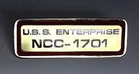 Star Trek:Enterprise NCC-1701 Call Letters Cloisonne Pin-Red Border (TRK-1033-R)