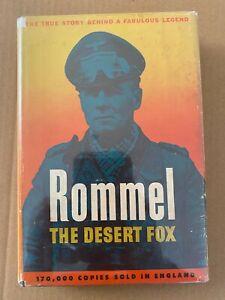Rommel The Desert Fox – Desmond Young -  HC/DJ 1950 - WWII - Africa