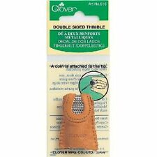 Leather Double Sided Thimble --