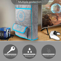 For PS5 PlayStation 5 Dust Cover Storage Bag Nylon Carrying Protective Case Skin