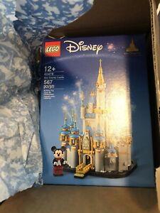 LEGO Mini Disney Castle 50th Anniversary (40478) *IN HAND*