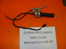 03 04 05 06 07 HONDA Metropolitan scooter jazz throttle tube brake lever perch