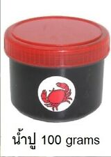 Jam cream Ricefield crabs numpoo thailand Organic, clean, without preservatives