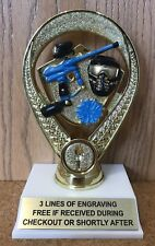 Paintball Trophy - Assembly Required