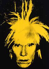 Andy Warhol - Gelb Gesicht American Artist Expression Celebrity Culture Pop-Art