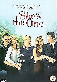 She's the One DVD (2002) NEW/SEALED Cameron Diaz Cert 15 Region 2 UK