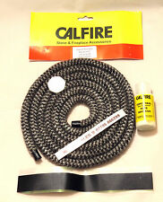 10mm Multifuel Stove Door Sealing Rope & Body part sealing kit -Soft Rope & glue