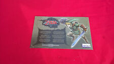 Zelda CARTE NINTENDO VIP PIN#