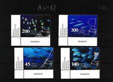 Tokelau 460-463 nuevo con goma original piezas frontera de la esquina (103374