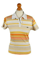 Vintage Lacoste Womens Polo Shirt Top Short Sleeve Striped  XL Multi - PT1266