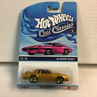 '84 Hurst Olds * Hot Wheels Cool Classics Pink Otto Card * G7