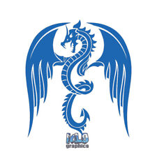 DRAGON ANGRY Vinyl Sticker car truck window Fantasy RPG Dungeon LARP WYRM LOVE