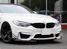 AC Style Carbon Fibre Front Splitters For MY14-18 BMW F80 M3 & F82/F83 M4 (CF)