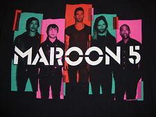 Maroon 5 2013 North American Concert Tour Pop Rock Music Fan Black T Shirt S
