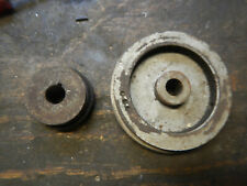 2 Step Motor Pulley And Spindle Pulley For An Old Surface Tool Grinder