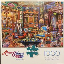 Buffalo Games Aimee Stewart CURIOSITY SHOP - 1000 Piece Jigsaw Puzzle New Sealed