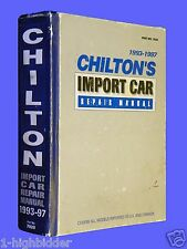 Chiltons Import Car Service Repair Manual 1993-1997 Hardcover #7920