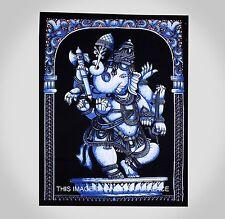 Algodón Tapiz Pared Pendiente Tiro Cartel Bandera Indio Hippie Señor Ganesha