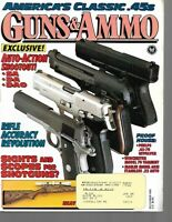Guns & Ammo Handguns Magazine December 1993 Class .45s, Phelps .45-70 Revolver