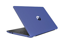 "HP 15-bs086na 2GQ94EA 15.6"" Quad Core Pentium N3710  8GB 1TB Win 10 Blue Laptop"