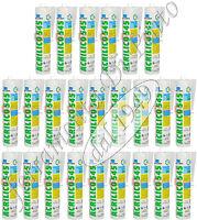 24 Silicona Gris Ral 7004 Acrílico Cartucho ML 310 Sellador K2F