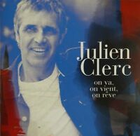JULIEN CLERC : ON VA, ON VIENT, ON RËVE - [ RARE CD SINGLE PROMO ]