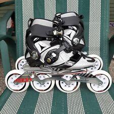 Roces Lab Speed Distance Inline Marathon Skates Rollerblade New 40 25.5 195 100