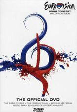 EUROVISION SONG CONTEST - Belgrade 2008 - Official Triple DVD Set