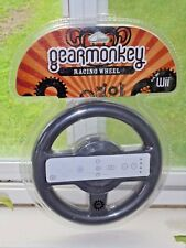 Gear Monkey Racing Wheel for Nintendo Wii Game NEW Steering Attachment Gray Toy