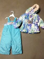Zero Xposure Toddler Snow Suit -size 12 Months-Blue-Girls