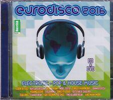 Eurodisco 2016 CD+DVD Cara Crew,The Kubbfreak,Danilo Secli,Noel Toto, NEW