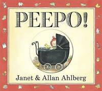 Peepo! (Board Book) by Janet Ahlberg, Allan Ahlberg, NEW Book, FREE & Fast Deliv