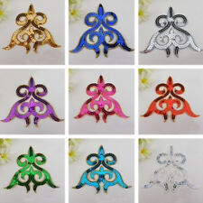 1pc Sequin Motif Applique Trim Dance Wedding Bridal Embroidery Sewing Crafts DIY
